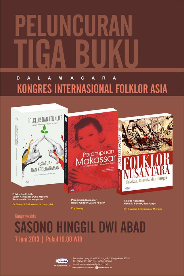 2013 06 07_Buku_Tiga Folklor Ombak Diluncurkan