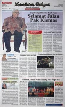 Kedaulatan Rakyat, 9 Juni 2013