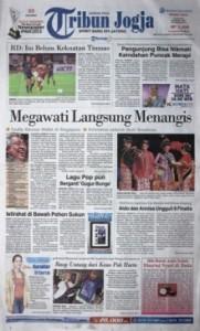 Tribun Jogja, 9 Juni 2013