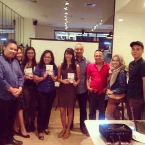 3. Pemenang Novel at Pizza Express