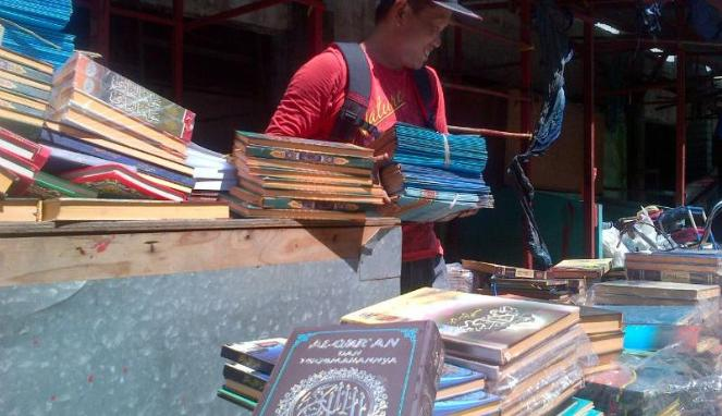 Kios Koran Lolos dari Kebakaran Pasar Johar Semarang (Viva.co.id)