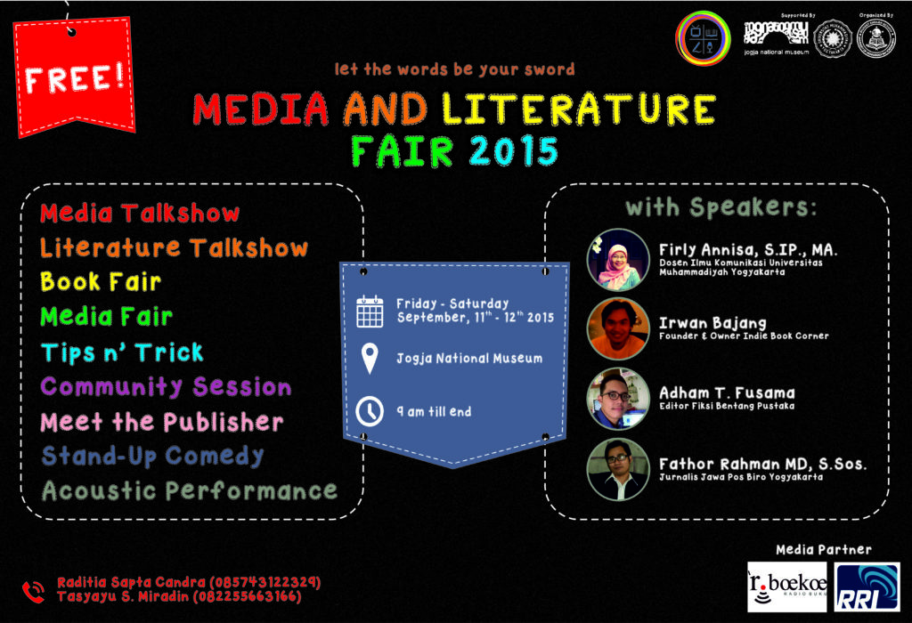 Media and Literature Fair 2015
