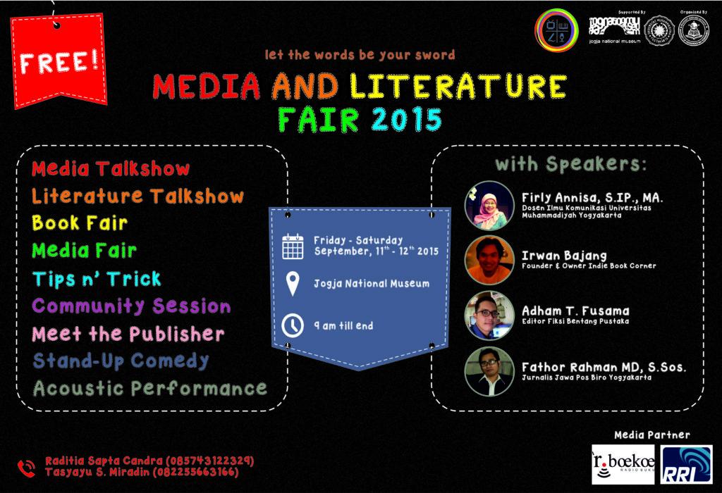 Media and Literature Fair 2015